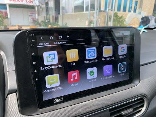 Màn hình Android cho xe hyundai kona