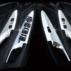 Ốp (cửa điều hòa, công tắc kính/ 10 pcs) chrome – HYUNDAI Sonata – C363