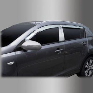 Chắn mưa chrome – KIA Sportage – A477