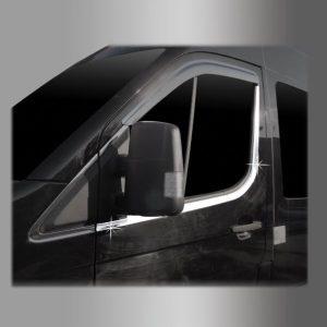 Nẹp chân kính cửa trước chrome  4 pcs – HYUNDAI Solati – B265