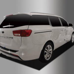 Ốp ngoài xe, phía sau (tay gạt mưa, cảm biến lùi) chrome – KIA Sedona – C285