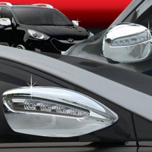 Ốp gáo gương chrome (LED) – KIA Sedona – D863