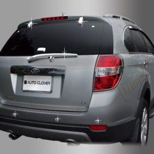 Ốp ngoài xe, sau (tay gạt mưa, cảm biến lùi, kính hậu) chrome – GM Captiva – B726