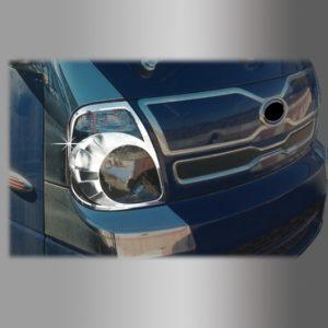 Ốp trang trí đèn pha Chrome ( 2 pcs) – KIA Bonggo III – D852