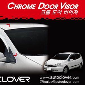 Chắn mưa chrome – GM Vivant – A416