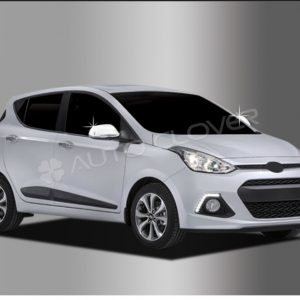 Ốp gáo gương chrome (LED) – HYUNDAI Grand I10 – C840