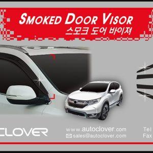 Chắn mưa smoke ( 6 pcs- ) – HONDA CR-V – D966