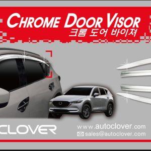 Chắn mưa ( Chrome – ) – MAZDA CX7 – D995