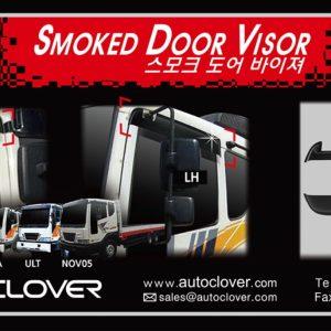 Chắn mưa smoke (2pcs) – GM Daewoo Truck – A110