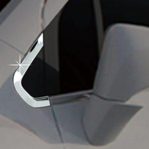 Ốp trang trí trụ A chrome – GM Trax – C175