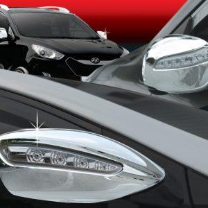 Ốp gáo gương chrome (LED) – HYUNDAI Accent – B700