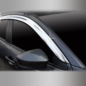 Chắn mưa ( Chrome – 4DR Sedan + 5DR Hatchback) – MAZDA Mazda 2 – D719