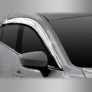 Chắn mưa ( Chrome – 4DR Sedan + 5DR Hatchback) – MAZDA Mazda 3 – D723