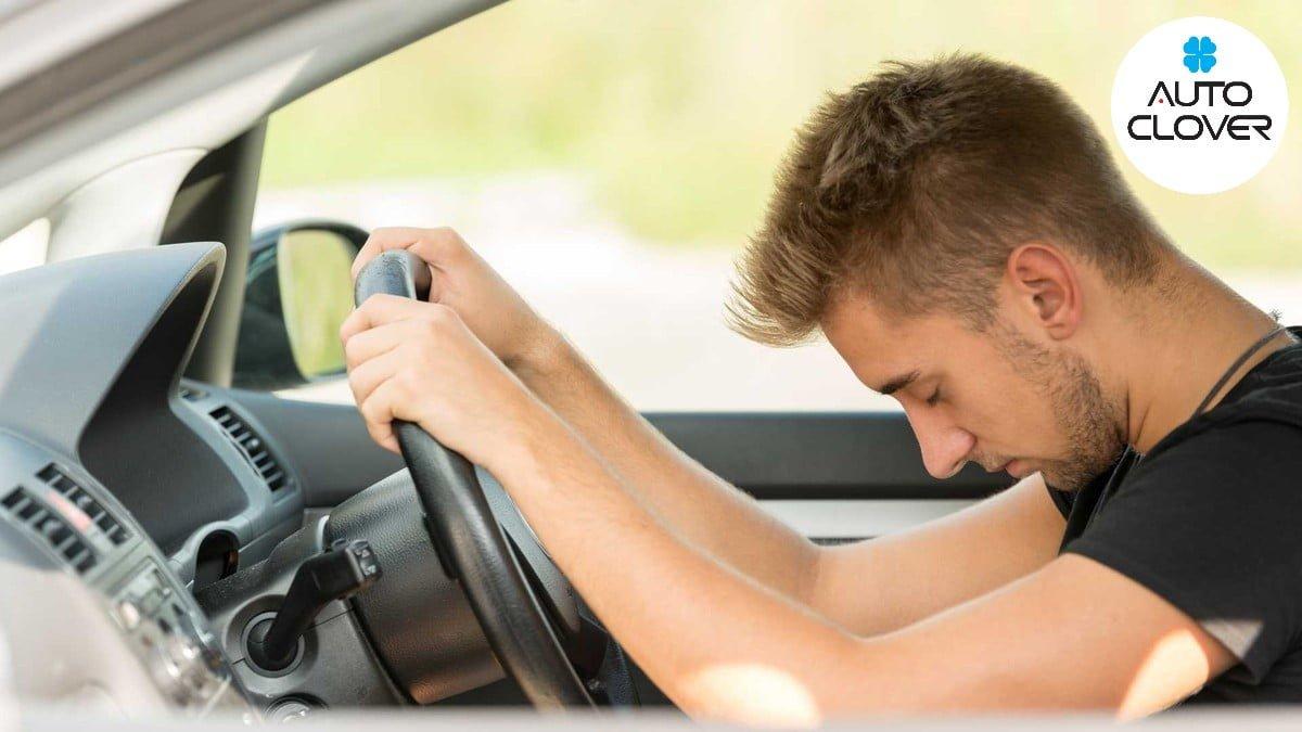 Ngủ gật khi đang lái xe