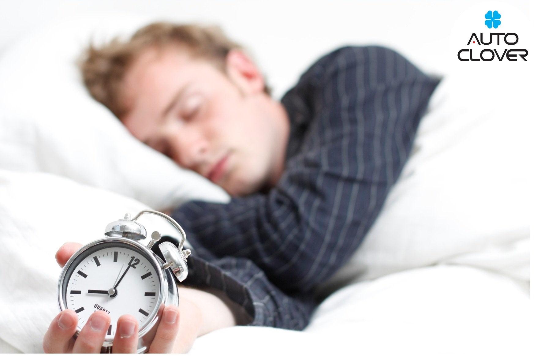 Ngủ đúng giờ