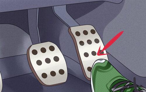 Bàn đạp ga – accelerator pedal