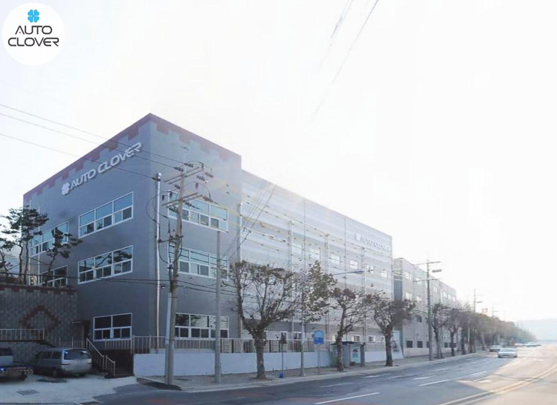 Trụ sở công ti Auto Clover tại Hàn Quốc