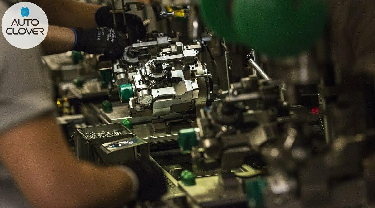 Hệ thống máy bơm béc dầu công nghệ cao của AC