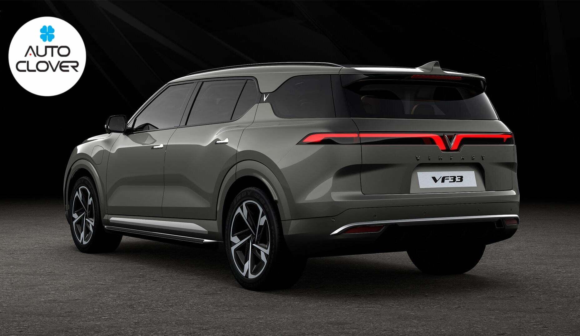 SUV cỡ lớn Vinfast VF33 có gì nổi bật để khiến các đối thủ nóng mặt