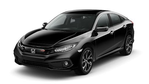 Honda city 2021 rs màu đen lịch lãm