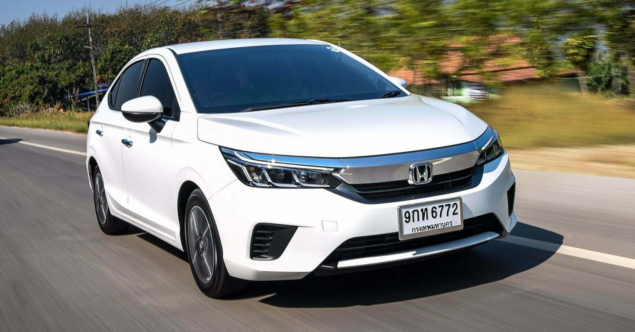Honda city 2021 rs màu trắng tinh khiết