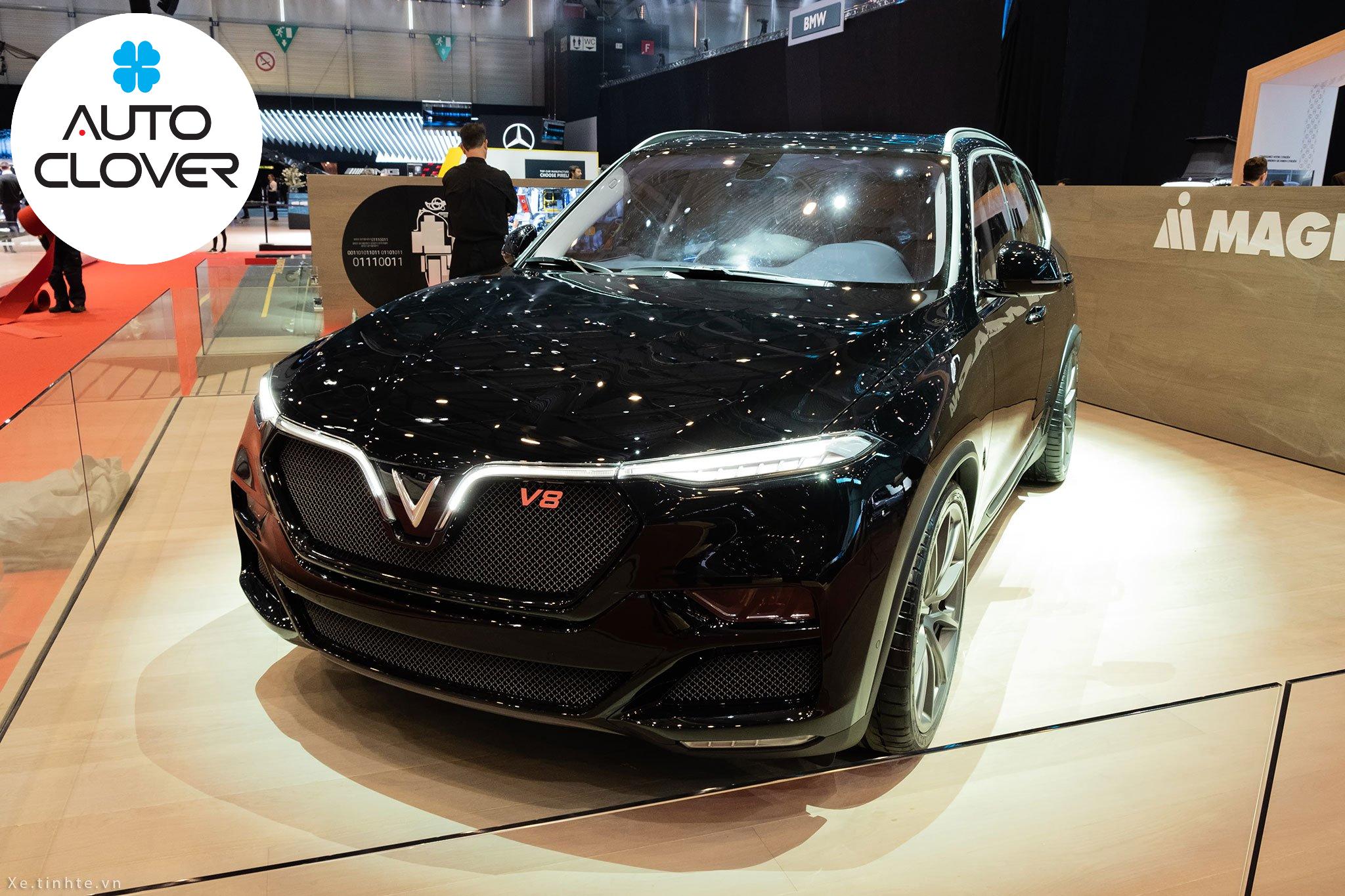 Phiên bản Lux V8 trang bị khối động cơ mạnh mẽ V8 với 8 xi lanh xếp thành chữ V. Công suất tối đa lên tới 455 mã lực, mô-xen xoắn cực đại 624 Nm