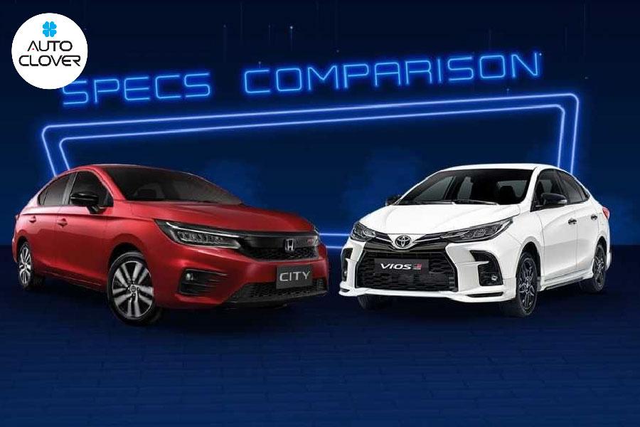 So sánh giá bán Honda City 2021 và Toyota 2021