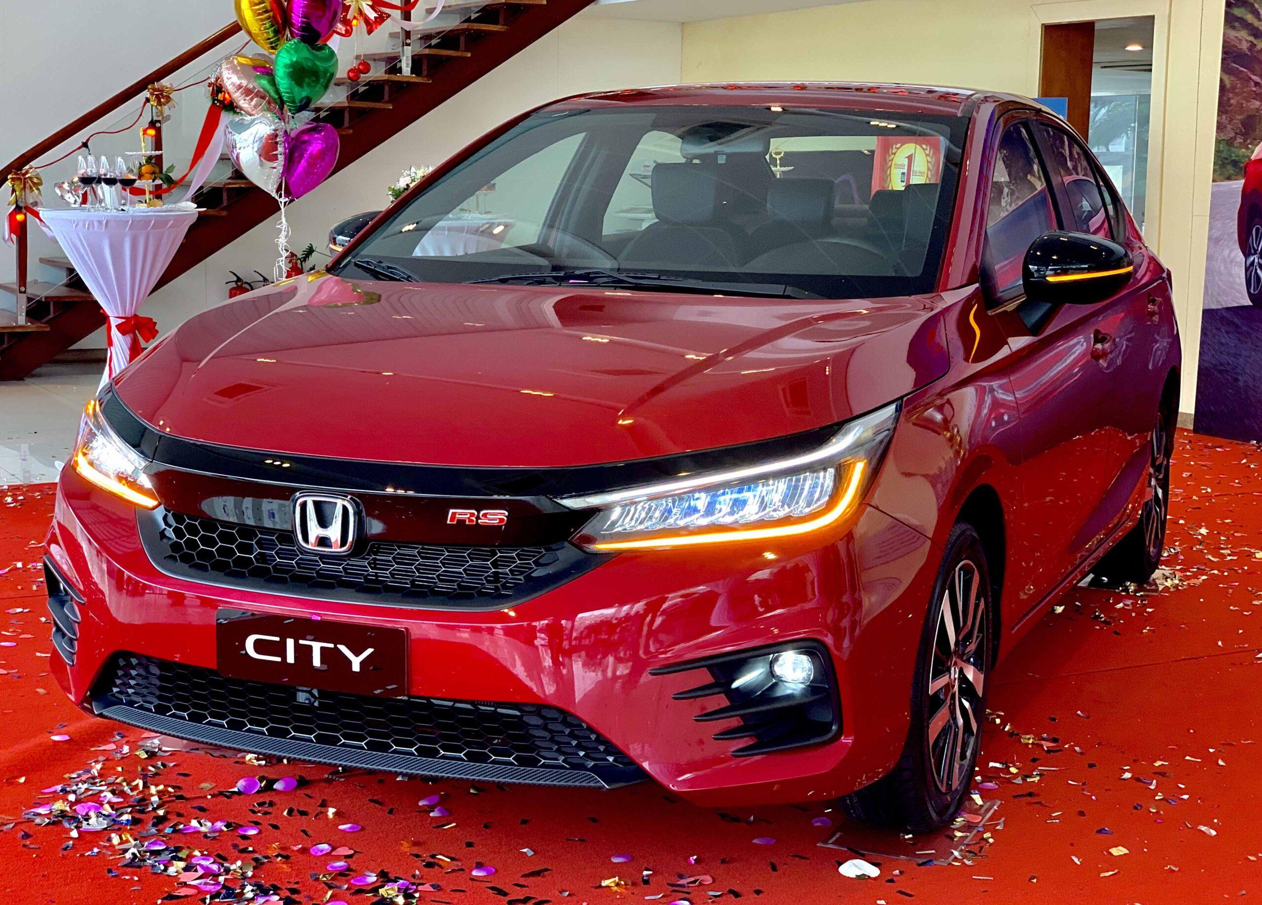 Thông số kỹ thuật của Honda City 2021
