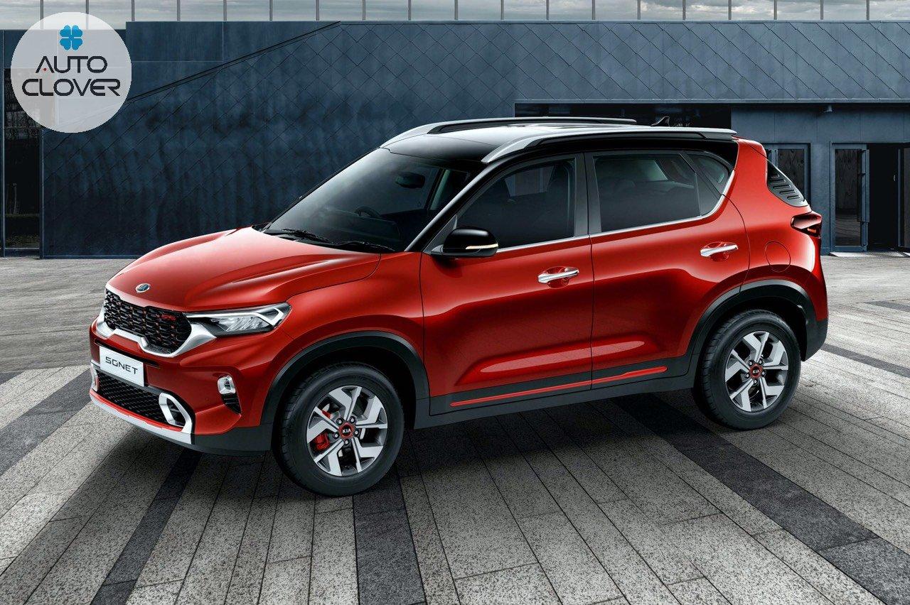 """Những mẫu xe ô tô mới sắp được ra mắt 2020 đầu tiên chắc chắn phải kể đến là xế hộp """"ông lớn"""" KIA Sonet."""