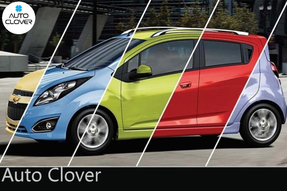 Chevrolet Spark Duo có 5 màu